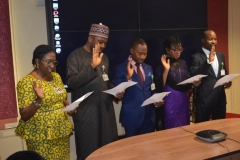 ACTU Inauguration at the Petroleum Equalization Fund (Management) Board