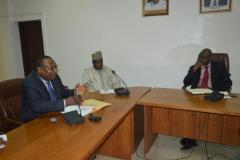Courtesy call on ICPC Chairman by Nigeria Shippers Council (NSC)