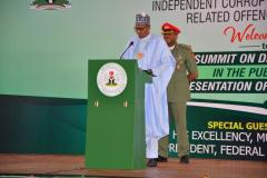 NATIONAL SUMMIT ON DIMINISHING CORRUPTION IN THE PUBLIC SECTOR AND PRESENTATION OF INTEGRITY AWARDS